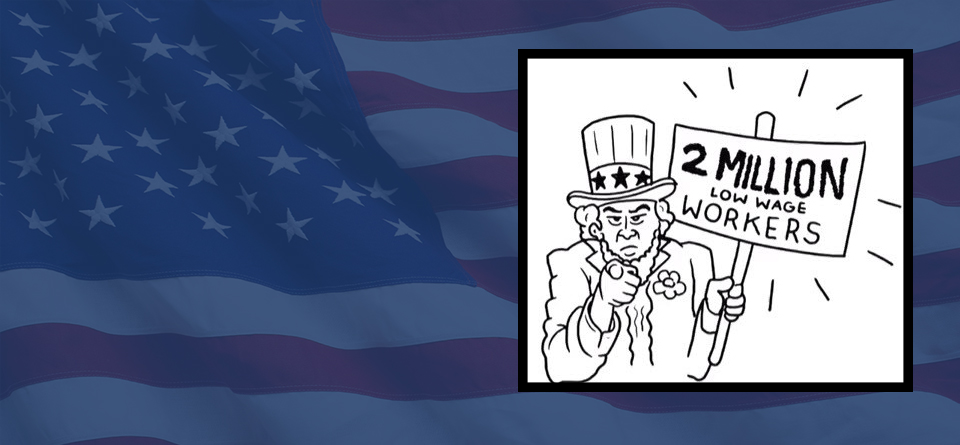 Flag slider website uncle sam
