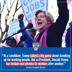 """""""As a candidate, Trump talked a big game..."""""""